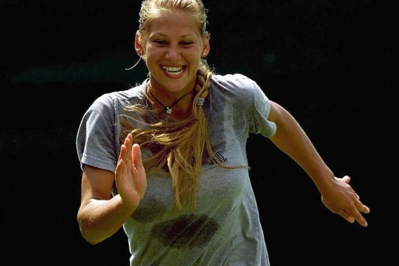 Anna Kournikova Joins ... Anna Kournikova Today