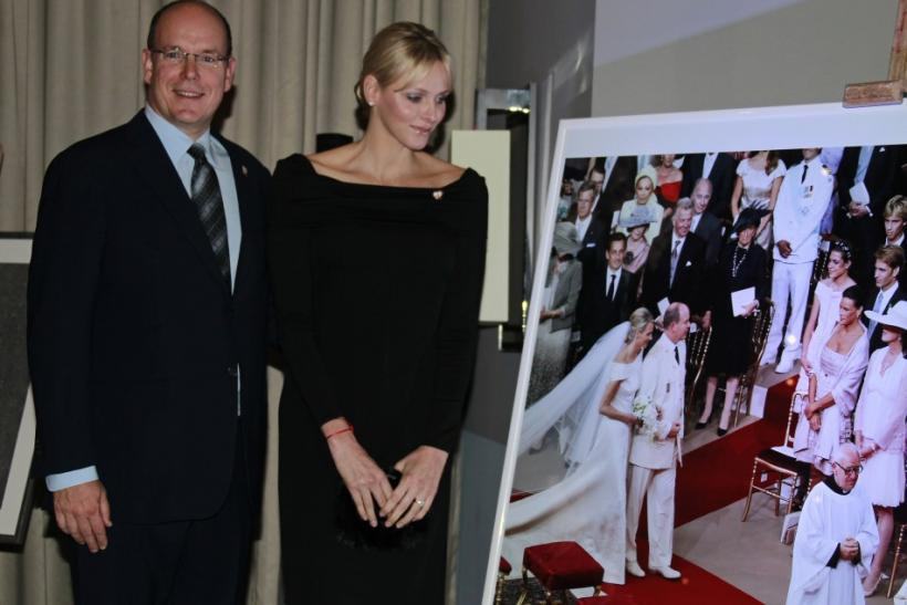 Princess Charlene's Glam Looks at Fight Aids Monaco Auction