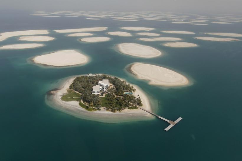Lebanon Island    at    The World    Archipelago in Dubai Readying for    The World Dubai