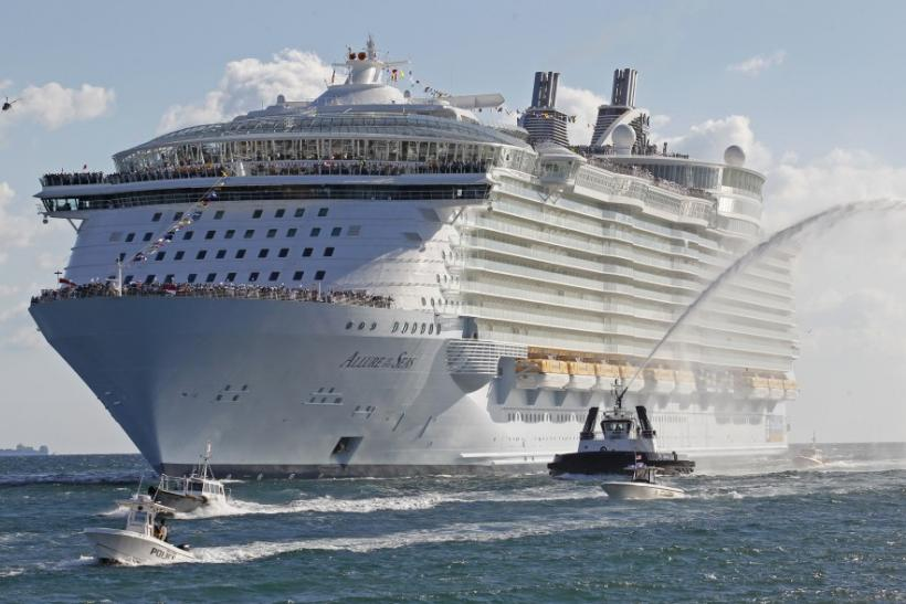 The Worlds Largest Cruise Ships A Look Inside PHOTOS  International Busi