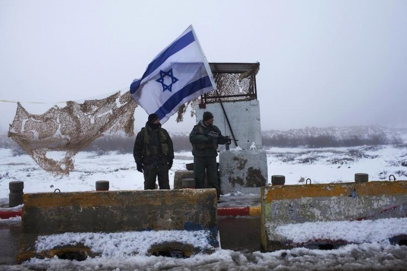 Snow In West Bank