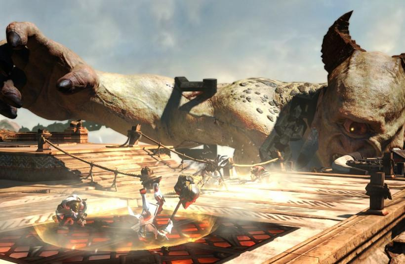'God Of War' Multiplayer Mode For 'Ascension' Prequel Revealed By Sony [PHOTOS]