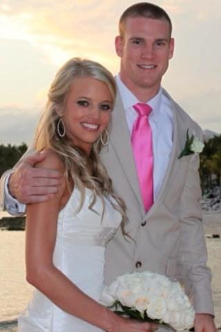 Lauren and Ryan Tannehill got married in January.