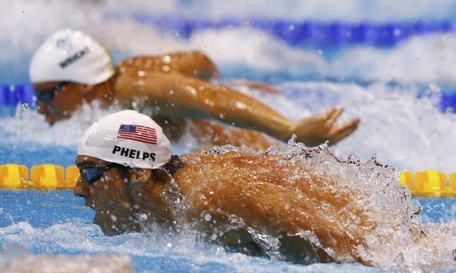 Michael Phelps: Incredible Winning Moments in London Olympics (Photos)
