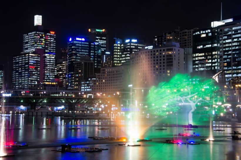 Vivid Aquatique in Darling Harbor