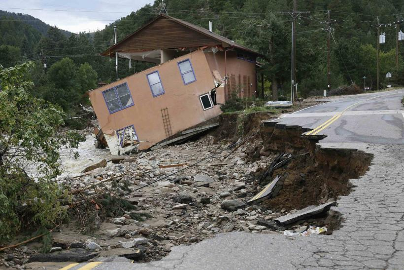 Colorado flood damage