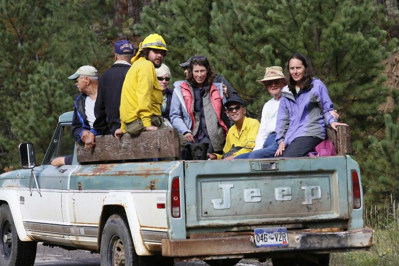 Colorado Pickup Truck Evacuation