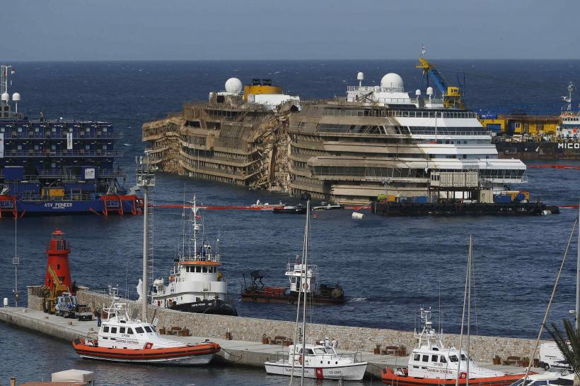 Costa Concordia Harbor