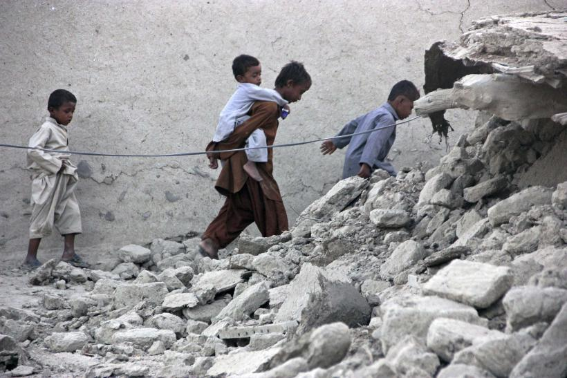 Pakistan Earthquake Rubble Survivors