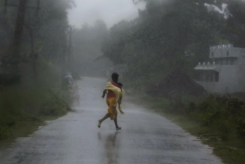 Phailin Girl Runs