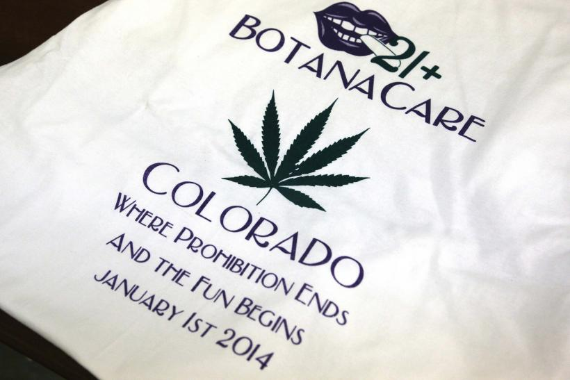 Marijuana t shirt colorado