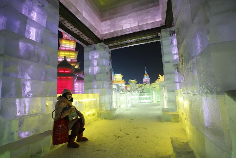 Harbin Ice Festival photos