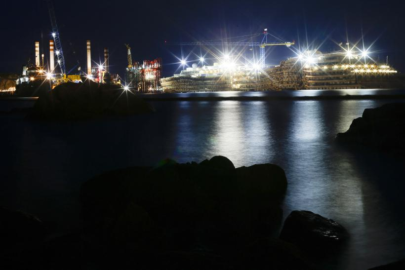 Costa Concordia Night