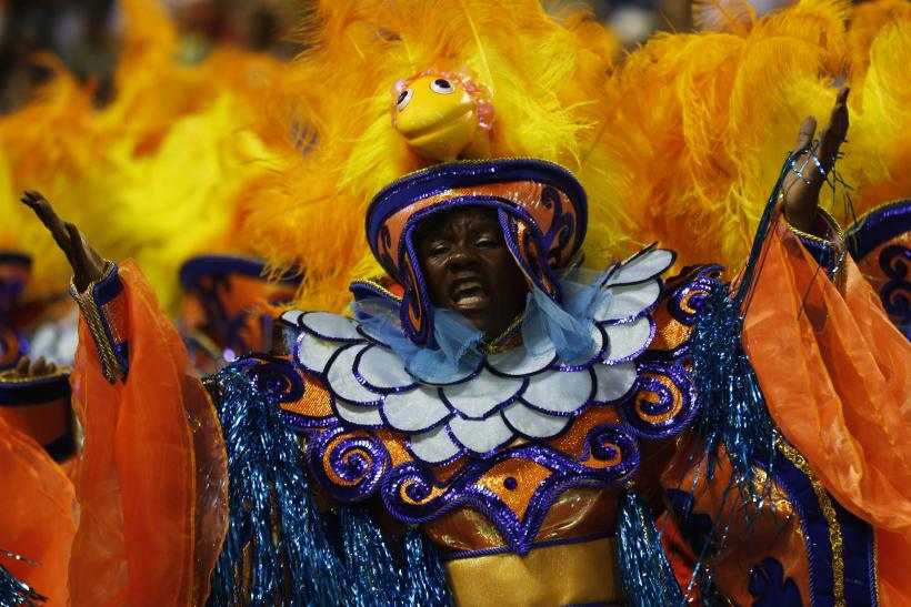 2014  Carnival  Rio Orange yellow samba