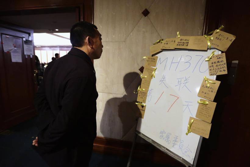 Mh370 tally board