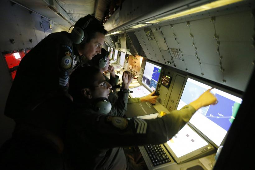 MH370 search radar March 22
