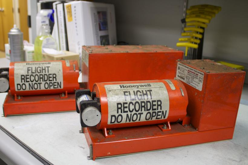 NTSB Flight Data Recorder