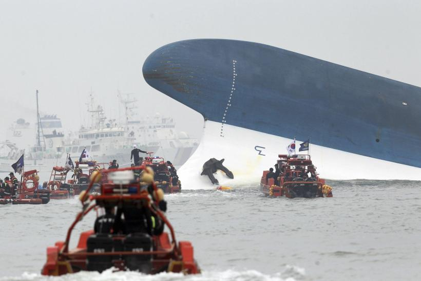 South Korea Ferry - Sewol Police