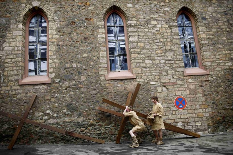 Good Friday Germany Reenactment