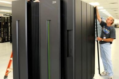 The IBM zEnterprise 196 combines two servers on one mainframe.