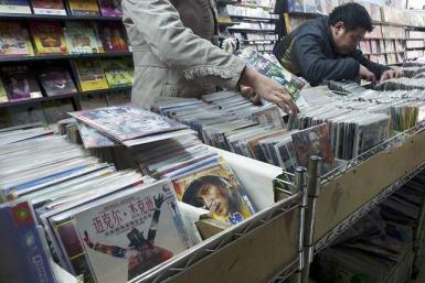 Pirated DVDs In Xiangyang, Hubei Province