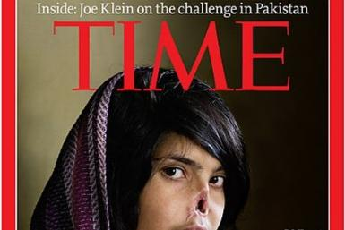 Bibi Aisha on TIME cover