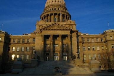 The Idaho Capitol building is seen in the capital of Boise Idaho in a photo taken on Nov. 17, 2006.
