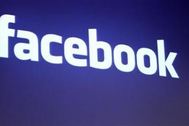 The Facebook logo is shown at Facebook headquarters in Palo Alto, California May 26, 2010.