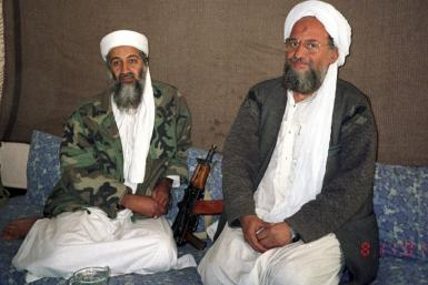 Osama bin Laden and Ayman al-Zawahiri
