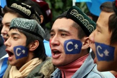 Uighurs in northwestern China