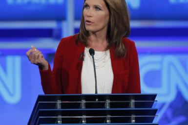 Bachmann Tea Party debate