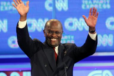 Herman Cain at CNN Debate