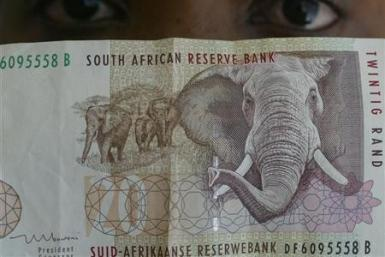 South African rand note