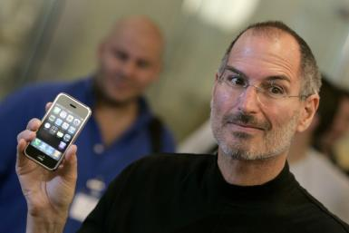 iPhone inventor Steve Jobs