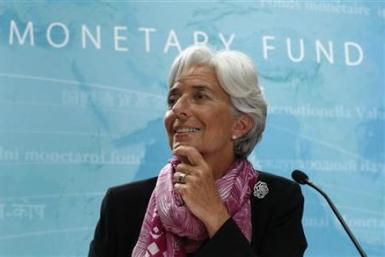 IMF managing director Christine Lagarde may have hinted that the Federal Reserve should roll out QE3