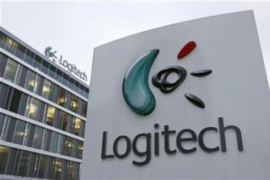 Logitech headquarters are pictured in Morges near Lausanne