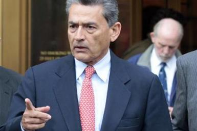Rajat Gupta, former Goldman Sachs director and global head of consultancy at McKinsey & Co., exits Manhattan Federal Court in New York