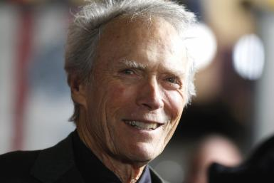 "Director Clint Eastwood is interviewed at the opening night gala for AFI Fest 2011 with the premiere of Eastwood's film ""J. Edgar"" in Hollywood"