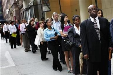 US jobless claims at 4 yr low