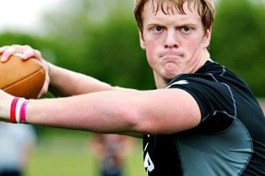 "Gunner Kiel, Indiana's ""Mr. Football,"" delayed his college decision on Tuesday. The four-star recruit is reportedly choosing between LSU, Vanderbilt and Notre Dame."