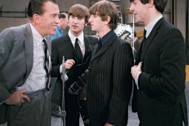 Beatles with Ed Sullivan
