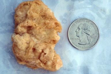 Rebekah Speights is currently auctioning off her three-year-old chicken nugget that looks like George Washington. The McNugget is currently bidding at $301.