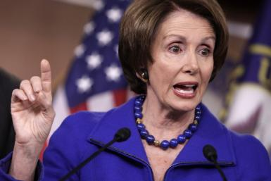 House Minority Leaser Nancy Pelosi had much to say in the debate over women's contraceptive coverage.