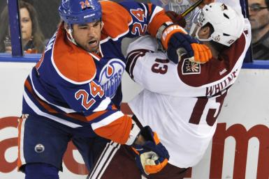 In 2005, this was called obstruction or interference, in 2012 it's called defense and the NHL is suffering for it.