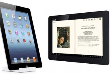 New iPad and Asus Transformer Prime