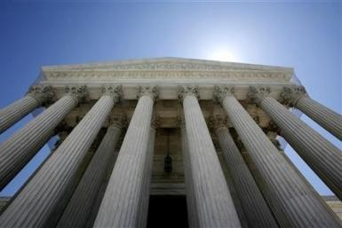 The U.S. Supreme Court building seen in Washington May 20, 2009.