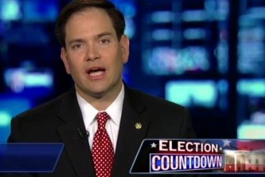 Marco Rubio Calls the GOP Primary Over Early, Endorses Mitt Romney