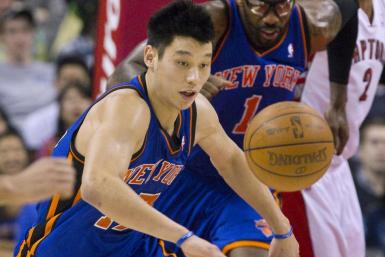 Jeremy Lin averaged 18.5 points and 7.6 assists per game in 26 games before getting injured.