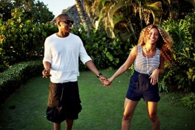 Beyonce and Jay-Z have been known for being notoriously private over the years, but with the birth of their daughter, Blue Ivy Carter, and the celebration of their fourth wedding anniversary, the superstar couple is opening up more.