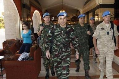 UN Peacekeepers Syria